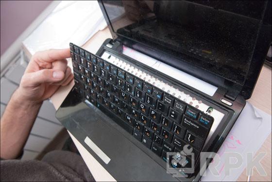 Не работает клавиатура.